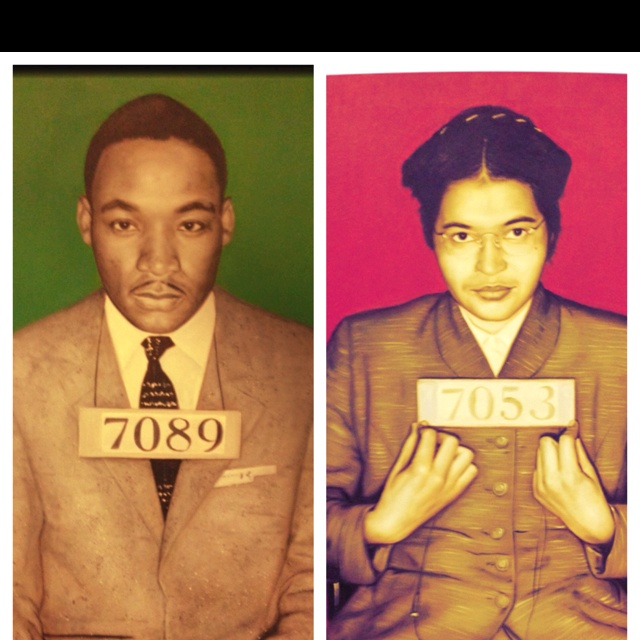 Mlk Jr And Rosa Parks Pinterest Women In History Civil Rights Figures