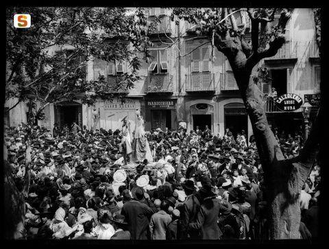 Max Leopold Wagner, Cagliari, Processione de S'incontru, 1915