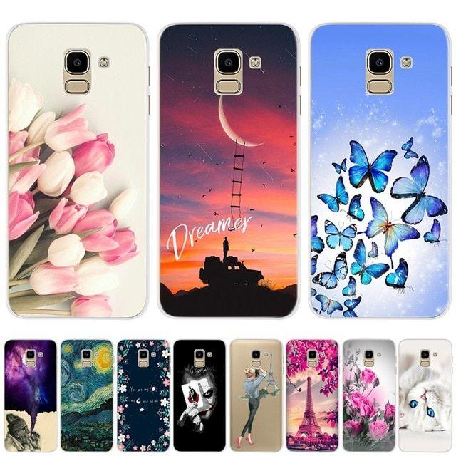 For Phone Case Samsung Galaxy J6 2018 Soft Silicone Case For Protector Fundas Samsung J6 Plus 2018 J60 Samsung Cases Iphone Wallet Case Diy Samsung Phone Cases