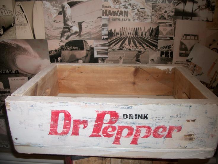 Dr Pepper Soda Crate £19.99