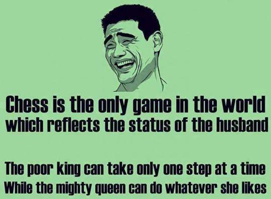 Chess Reflects The Husband Status