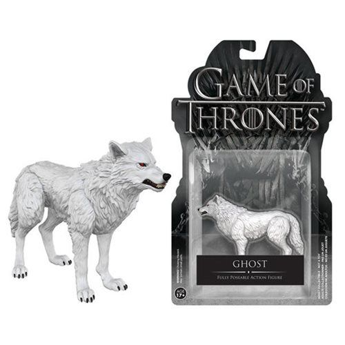 Game of Thrones Ghost 3 3/4-Inch Action Figure - Funko - Game of Thrones - Action Figures at Entertainment Earth