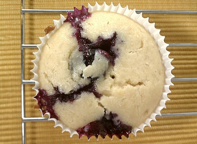 Sweet & Tart: Lemon Blueberry Muffins! 3 WW P+, 137 calories