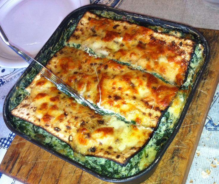 Miriam in cucina: LASAGNE DI MATZA' (PANE AZZIMO) PER PESACH