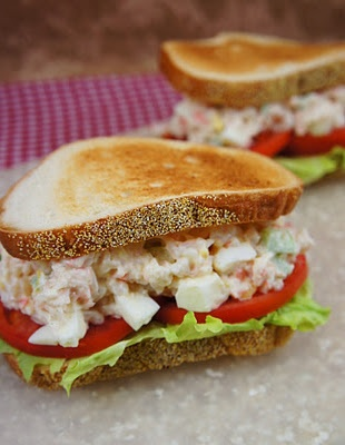 recipe: shrimp salad melt [25]