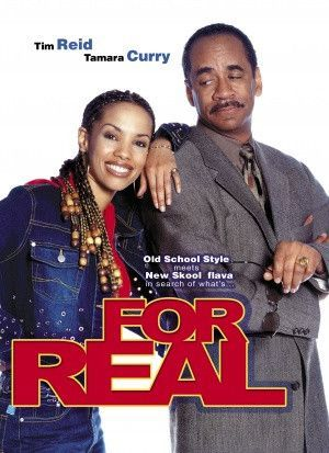 For Real Movie Poster 27X40 Used Tim Reid Tamara Curry