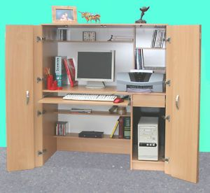 New* home office hideaway computer desk (r171)