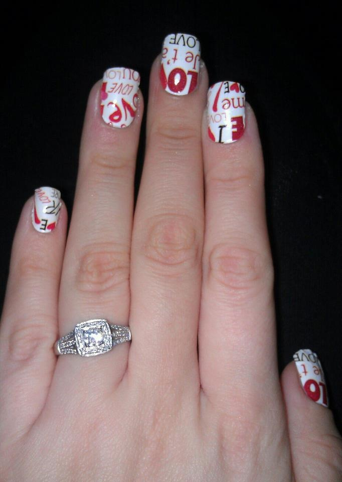135 best Nails * words/quotes images on Pinterest   Cute nails ...
