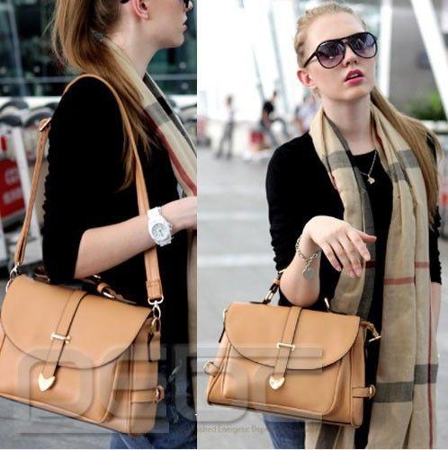 Free shipping# New Fashion PU Leather Crossbody Satchel Shoulder Messenger Bag Women Handbag $20.70