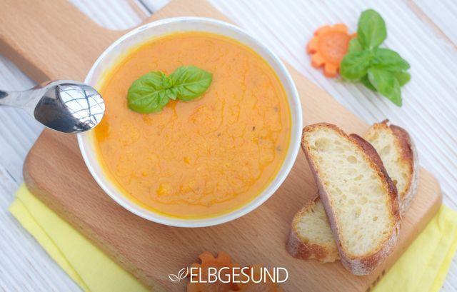 Karotten-Orangen-Suppe mit Ingwer-Kick – perfekt für kalte Winterabende