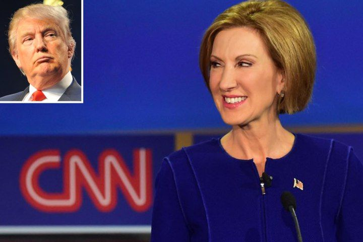 Carly Fiorina now only second to Trump in the polls