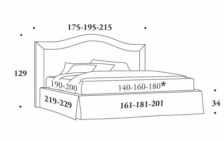 Descarga el catálogo y solicita al fabricante Oscar By felis, cama doble de tela con cabecera tapizada, Colección bed stories