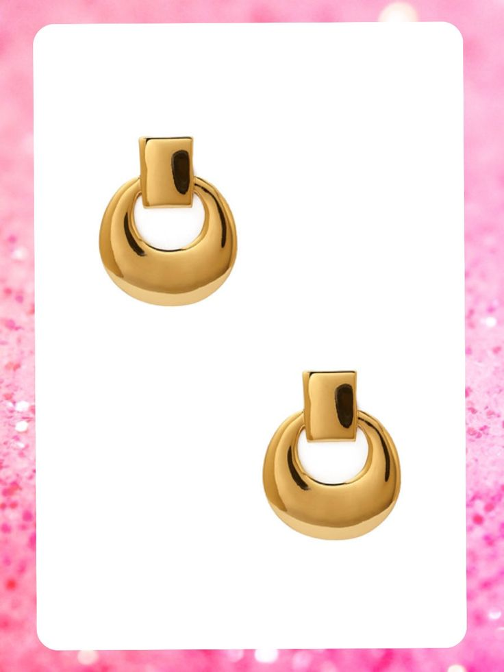 #MayaBoutiqueCR #Forever 21  Código: FA-31 Geo drop #earrings Color: Gold Precio: $11,00 (¢6.000) Para pedidos y consultas llamar al teléfono 8963-3317 o al email maya.boutique@hotmail.com.