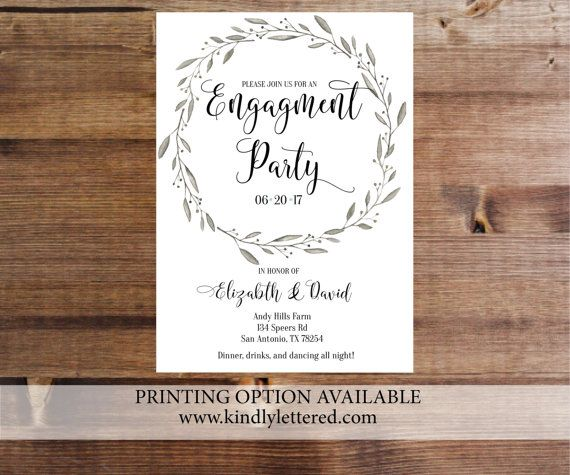 Best 25+ Engagement invitation message ideas on Pinterest - engagement invitation template