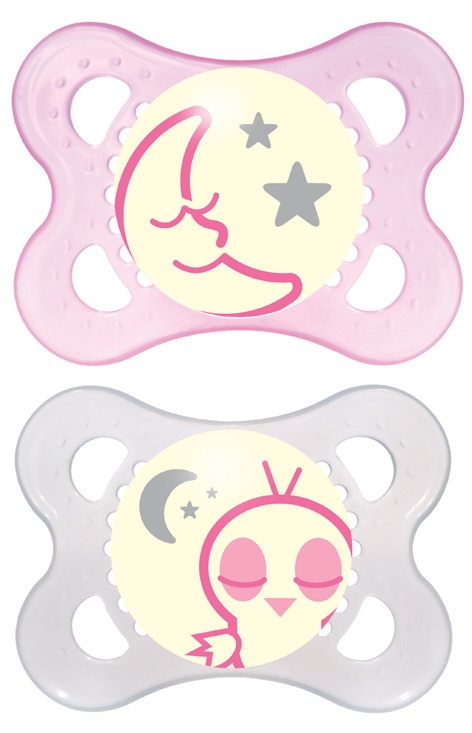 MAM 0+ Night Soother (Girl)