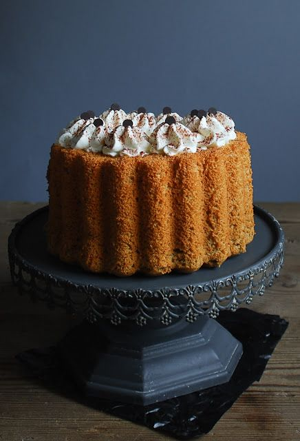 Irish coffee chiffon cake - Chiffon cake de cafe irlandés
