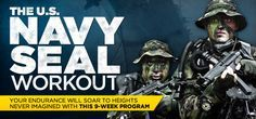 THE U.S. Navy SEAL Workout - Changing up the training plan with a different challenge. Definitely can't do pull-ups yet, but ask me after 9 weeks ;)