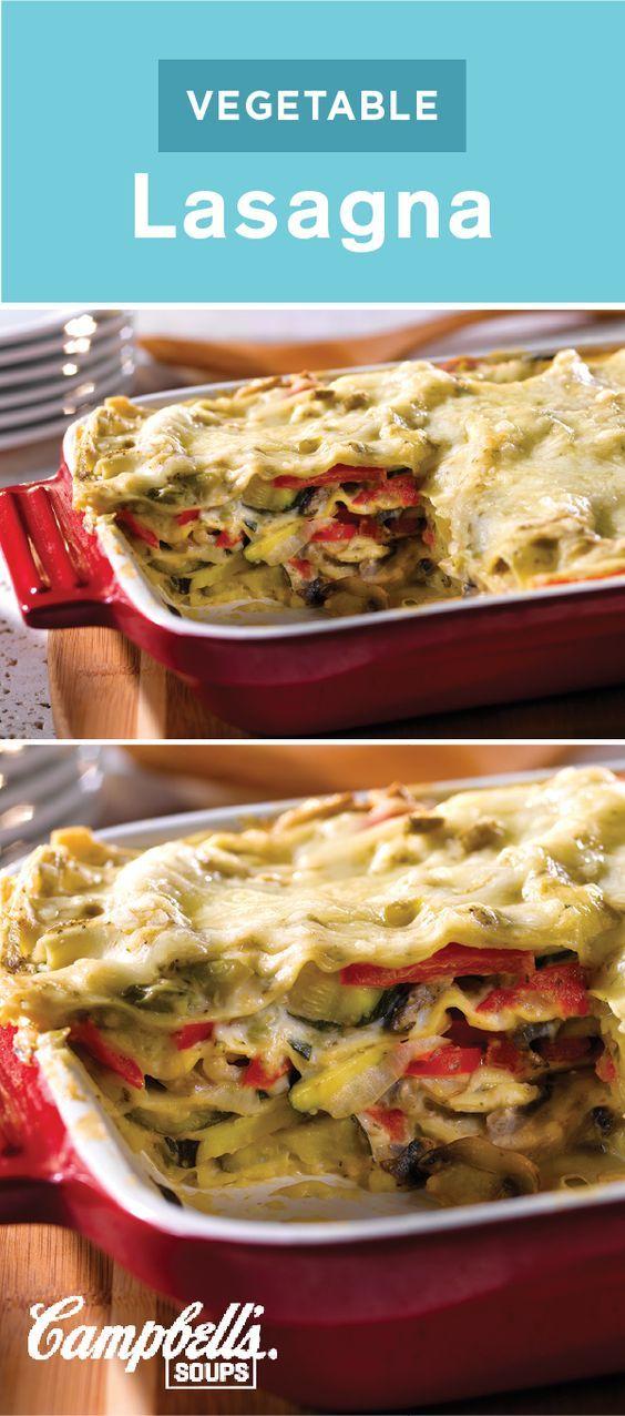 No cook vegetable lasagna recipe easy