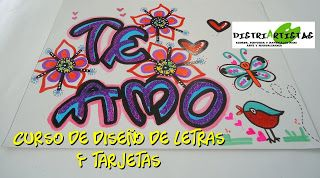 DistriArtistas: CURSO DISEÑO DE LETRAS Y TARJETAS (TIMOTEO) BUCARAMANGA