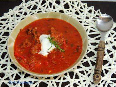 Moje Małe Czarowanie: Zupa gulaszowa z wołowiny