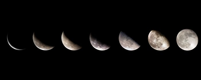 The Monthly Cycle Of The Moon And Its Phases ... phases-of-the-moon └▶ └▶ http://www.pouted.com/?p=24796
