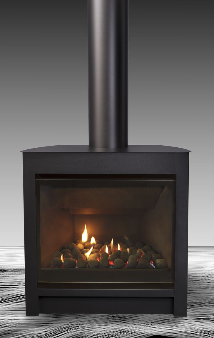 Free Standing Fireplaces Modern In Stand Alone
