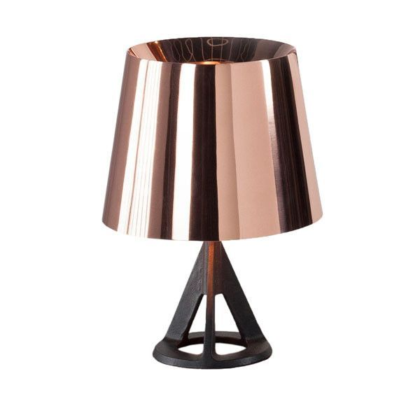 Base Table Lamp Copper by Tom Dixon