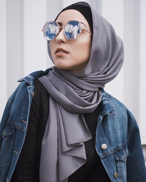 How to wear sunglasses with hijab – Just Trendy Girls