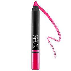Sephora: NARS : Satin Lip Pencil : lipstick Price: $25 Color: Yu- bright pink