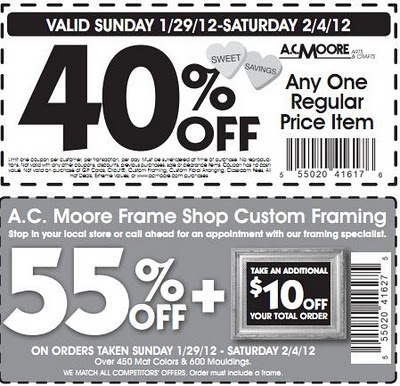 Coupon Policy. Michaels coupons are available in the advertisements inserted into participating newspapers, in direct mailers, in the weekly ad at shopnow-62mfbrnp.ga, in the Michaels mobile app and via the Michaels email program. If you are not already receiving coupons via email, please visit shopnow-62mfbrnp.ga and register to receive discounts.