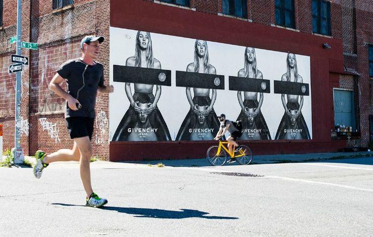 Cuando el street art se convierte en soporte publicitario - La Criatura Creativa