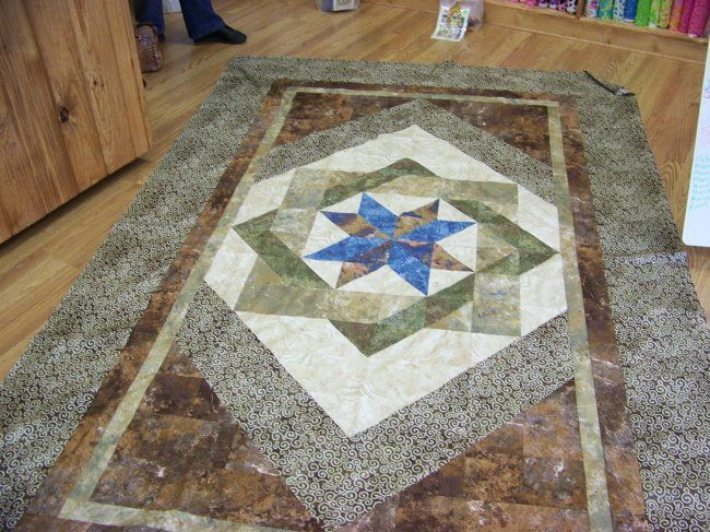 Twin Size Labyrinth Quilt Quilts Country Living Quilts