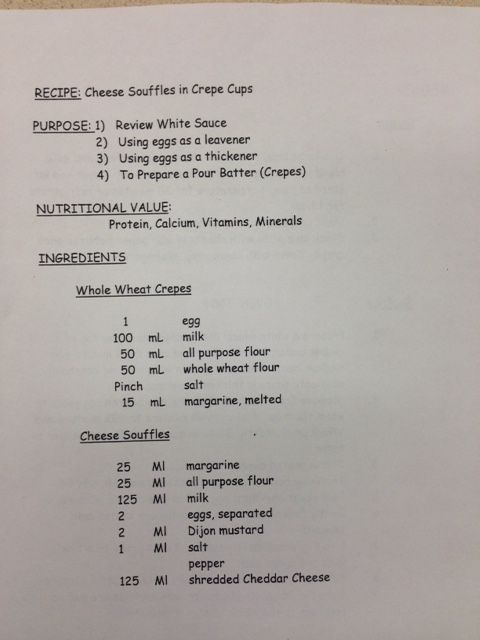 Souffle in Crepe Cups - pg. 1