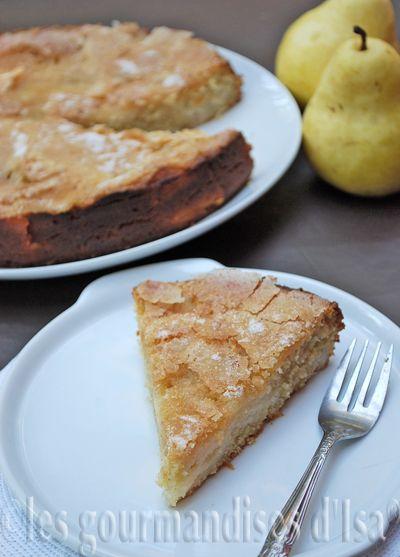 La r ecette originale  était faite ...aux pommes ! Et pourquoi donc, je ne l'ai pas fait aux pommes ?  Tout simplement parce que j'avais ...