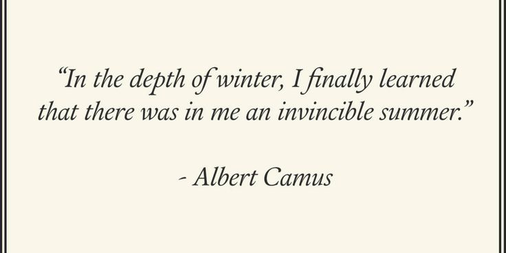 Seven Quotes About Winter  - TownandCountryMag.com