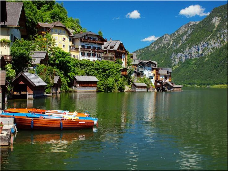 Австрия... Места, которые стоит обязательно посетить;) - Другой мир