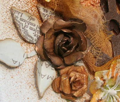 beautiful rose creations flower tutorial with step by step embossing to give this effect of petals