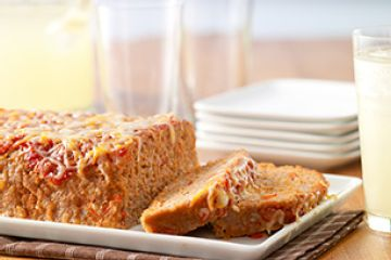 Incredibly Cheesy Turkey Meatloaf.... my favorite meatloaf recipe