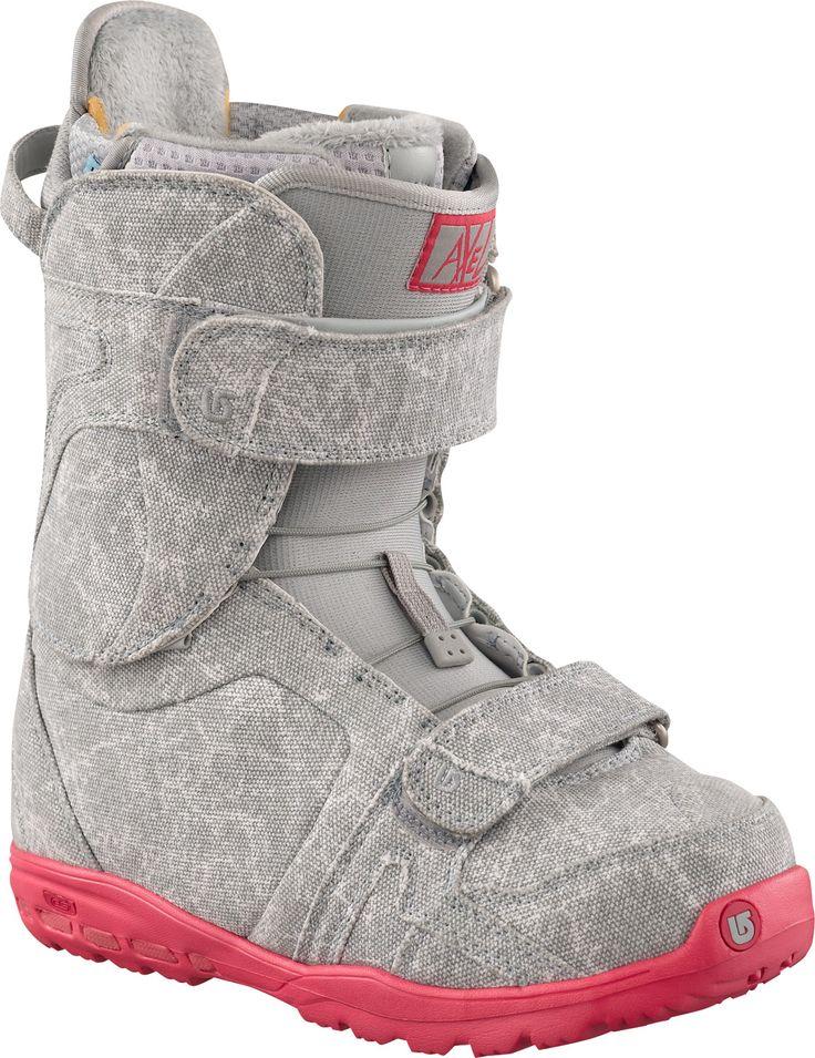 Burton Axel Snowboard Boots Gray/Pink