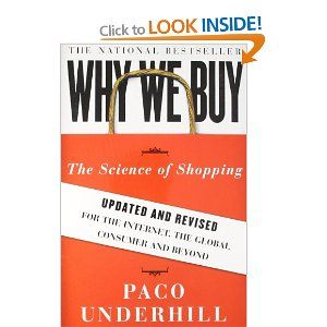 Interesting, easy read on the psychology of shopping.