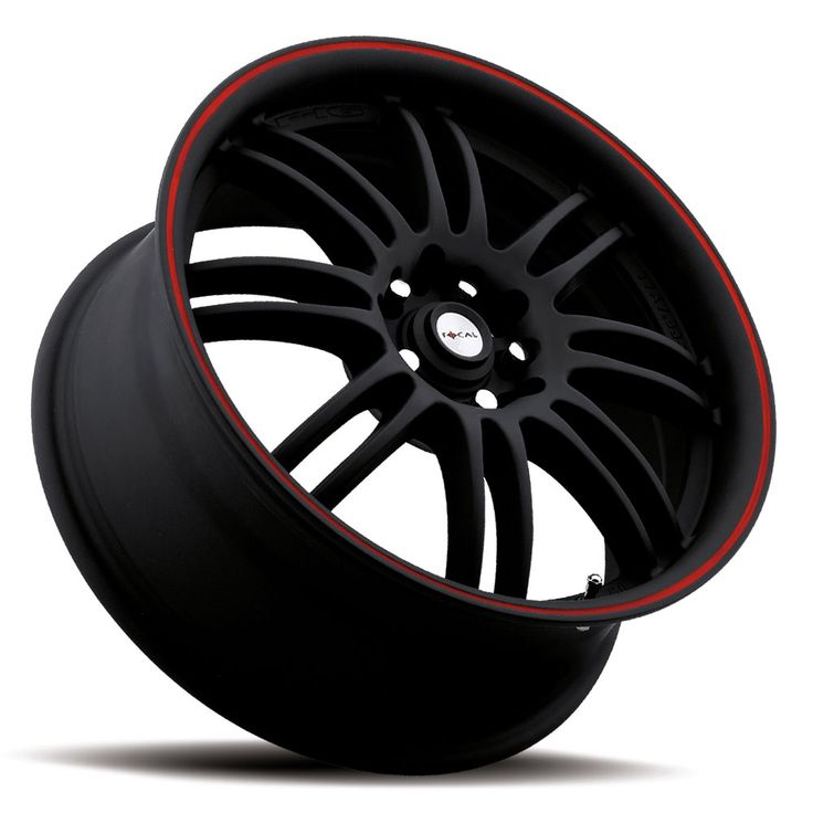 Focal Rims Matte Black Red Trim Love Even More If It Were