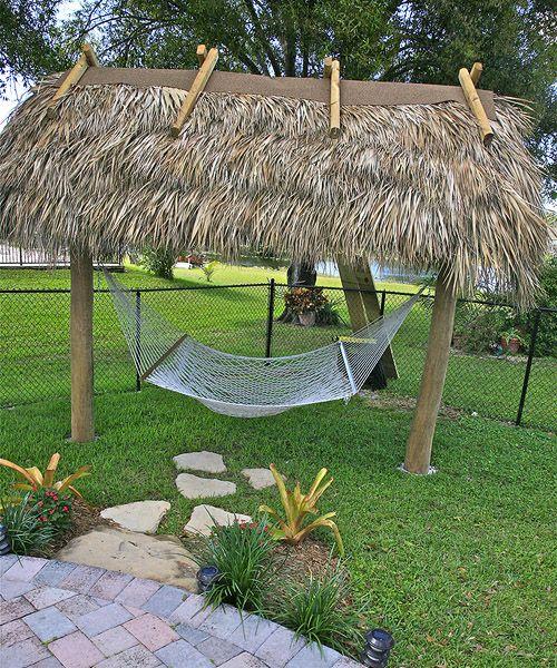 Backyard Paradise: Bamboo Landscapes : Tiki Hut Gallery