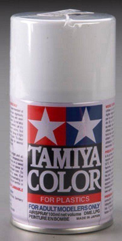 Tamiya Spray Lacquer TS27 Matte White 3 oz Paint 85027 #Tamiya