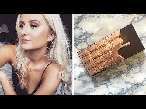 I heart makeup revolution rose gold chocolate bar palette - YouTube