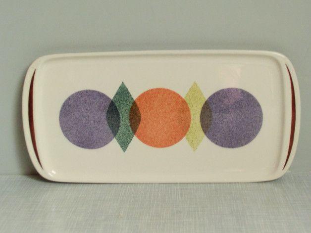 Vintage Tortenplatte - Kuchenplatte von W?chtersbach 60er J ...