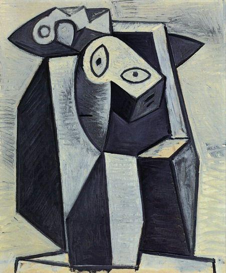 "Pablo Picasso - ""Visage"". 1928 г"