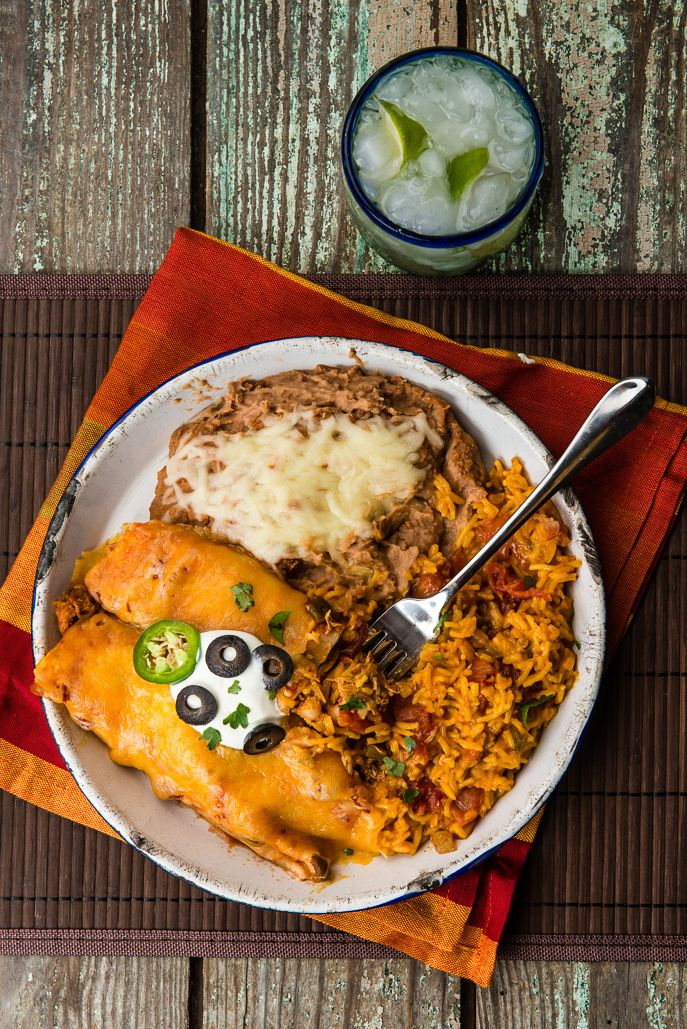 Slow Cooker Chicken Enchiladas from Everyday Good Thinking, the official blog of @Hamilton Beach