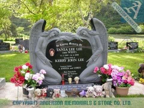17 Best Images About Our Twin Baby Angels Headstone Ideas