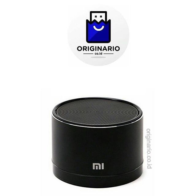 #Xiaomi Original Portable Bluetooth Canon Speaker #SayaBeliOriginal di #ORIGINARIO