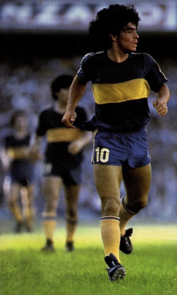 Diego Maradona 1981 en Boca Juniors